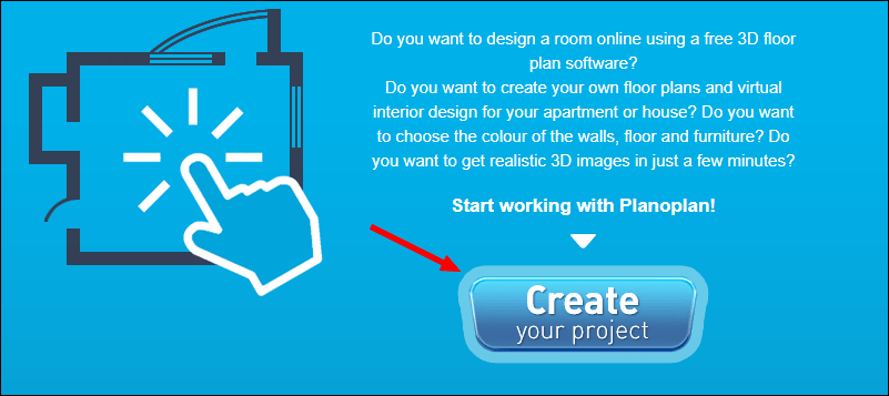 Create your project Planoplan